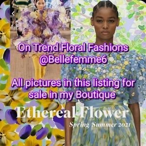 NEW Floral Dresses Tops Jewelry @bellefemme6 NWT